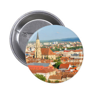 Cluj Napoca 2 Inch Round Button