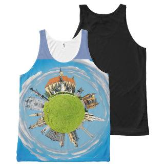 cluj napoca city romania little planet landmark ar All-Over-Print tank top