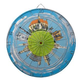 cluj napoca city romania little planet landmark ar dartboards