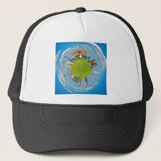 cluj napoca city romania little planet landmark ar trucker hat