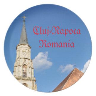 Cluj-Napoca, Romania Party Plate
