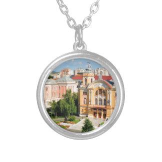 Cluj-Napoca, Romania Silver Plated Necklace