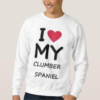 clumber love sweatshirt
