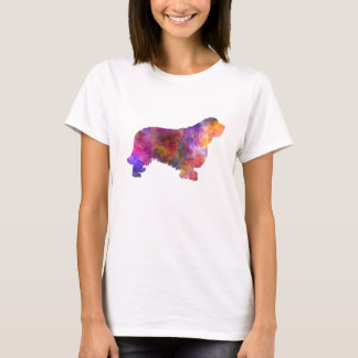 Clumber Spaniel 01 in watercolor-2 T-Shirt