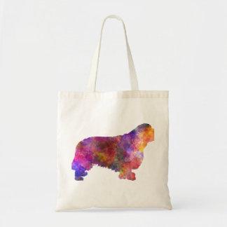 Clumber Spaniel 01 in watercolor-2 Tote Bag
