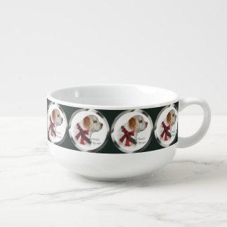 Clumber Spaniel Christmas Soup Mug