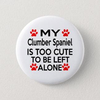 Clumber Spaniel Designs 2 Inch Round Button