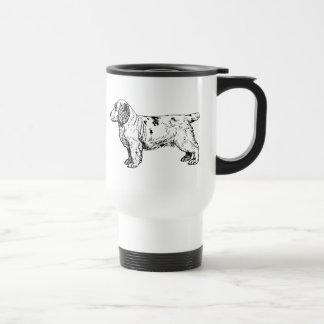 Clumber Spaniel Dog Business Travel Mug