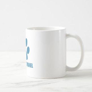 CLUMBER SPANIEL DOG DESIGNS COFFEE MUG