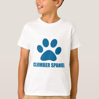 CLUMBER SPANIEL DOG DESIGNS T-Shirt