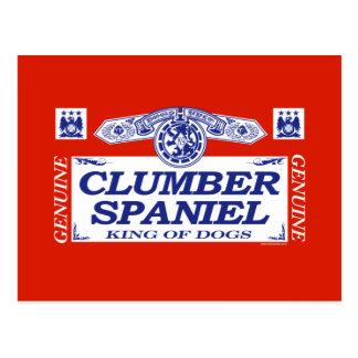 Clumber Spaniel Postcard