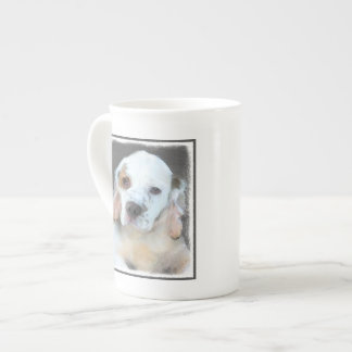 Clumber Spaniel Tea Cup