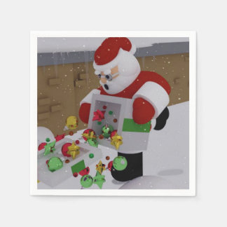 Clumsy Clause Paper Napkin