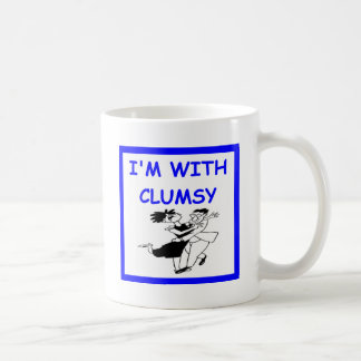 clumsy dancer coffee mug