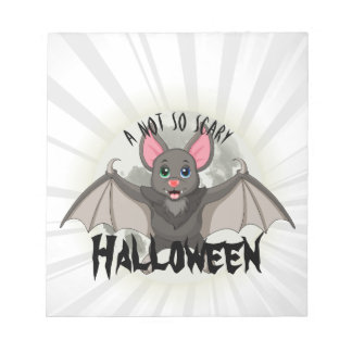 Clumsy, The Little Bat & A Not So Scary Halloween Notepad