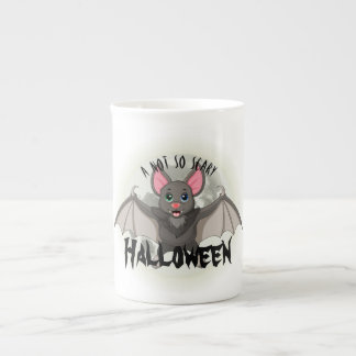 Clumsy, The Little Bat & A Not So Scary Halloween Tea Cup