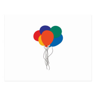 Cluster of Balloons Postcard