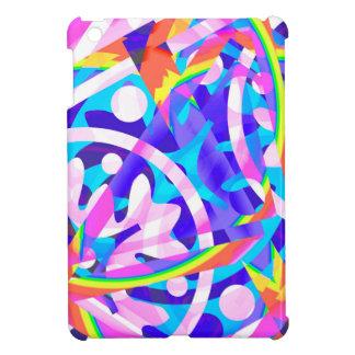 Cluster of Color Violet Variation iPad Mini Cases