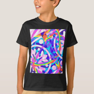 Cluster of Color Violet Variation T-Shirt
