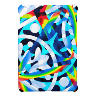 Cluster of Colorful Abstract Shapes Case For The iPad Mini