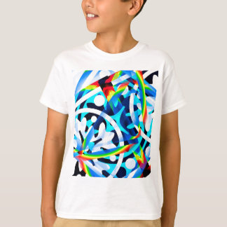 Cluster of Colorful Abstract Shapes T-Shirt