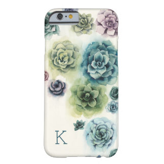 Cluster of Succulents Barely There iPhone 6 Case