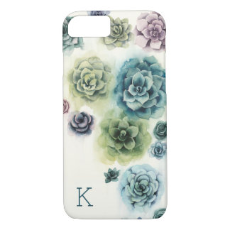 Cluster of Succulents iPhone 8/7 Case