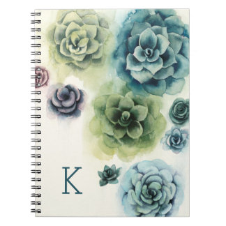 Cluster of Succulents Notebook