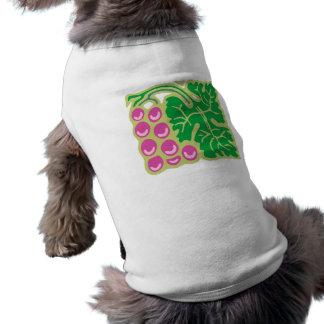 Clusters grapes square square pet t-shirt