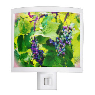 clusters of grapes 17 night light