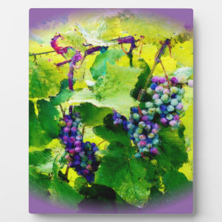 clusters of grapes 17 plaque