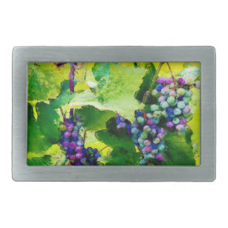 clusters of grapes 17 rectangular belt buckle