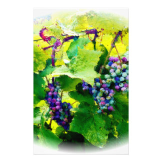 clusters of grapes 17 stationery