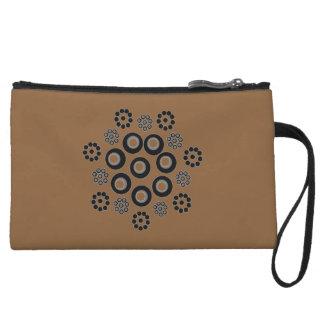 Clutch Bag brown black Custom
