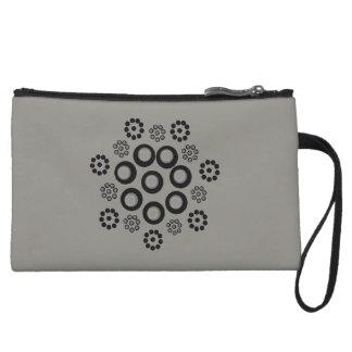 Clutch Bag grey black Custom