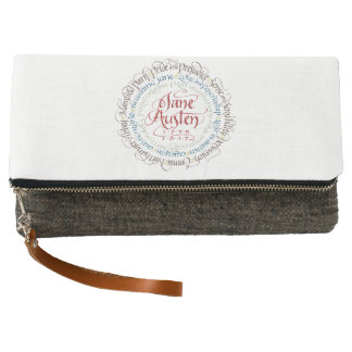Clutch Wallet - Jane Austen Period Drama Adaptatio