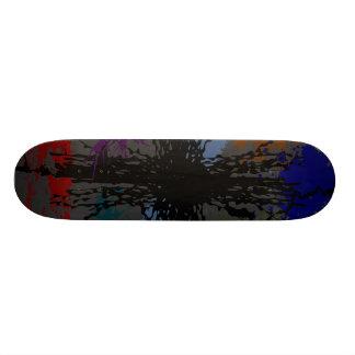 Cluttered Grunge Skateboard