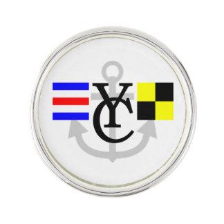 CLYC Alaska Lapel Pin w/ anchor logo