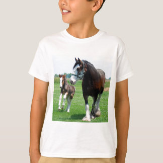 Clydesdale and Filly T-Shirt
