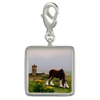 Clydesdale Castle Charm