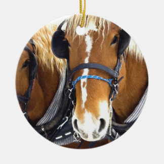 Clydesdale Draft Horse Ornament