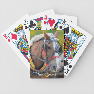 Clydesdale Draft Horse Ultimate Designer Pack Bicycle Playing Cards