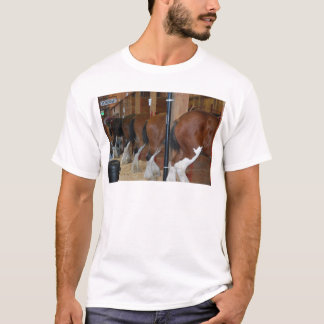 Clydesdale horses T-Shirt