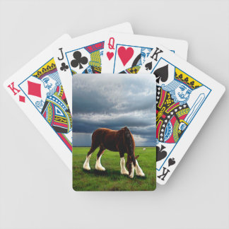 Clydesdale Storm Bicycle Playing Cards