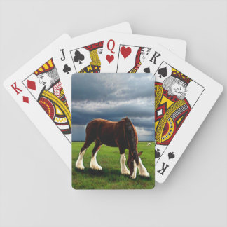 Clydesdale Storm Playing Cards
