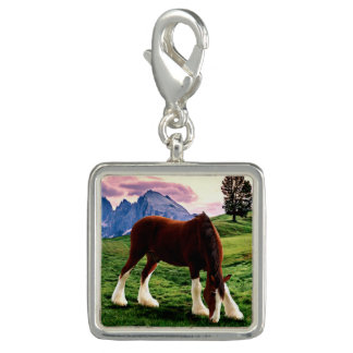 Clydesdale Sunset Charm
