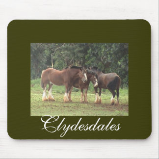 Clydesdales Mousepad