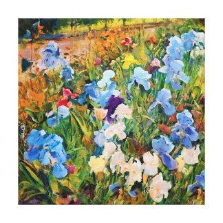 CM12200 - Mon jardin bleu Toiles