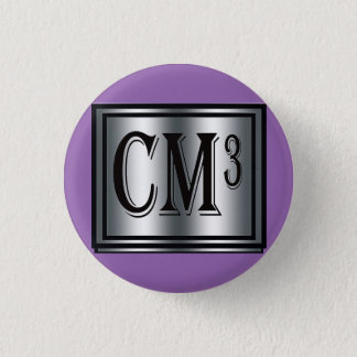 Cm3 Royal Circle 1 Inch Round Button