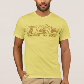 CM 3-Style (gold w/ text) T-Shirt